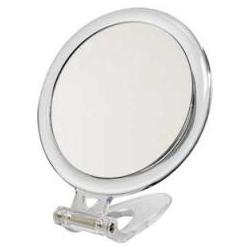 sminkspegel med förstoring och fot