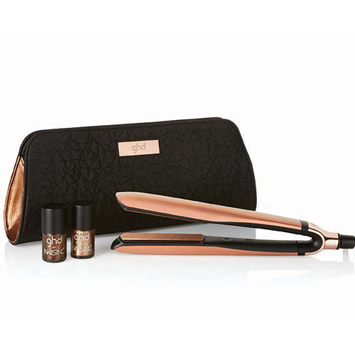 GHD PLATINUM COPPER GOLD STYLER PREMIUM GIFT SET